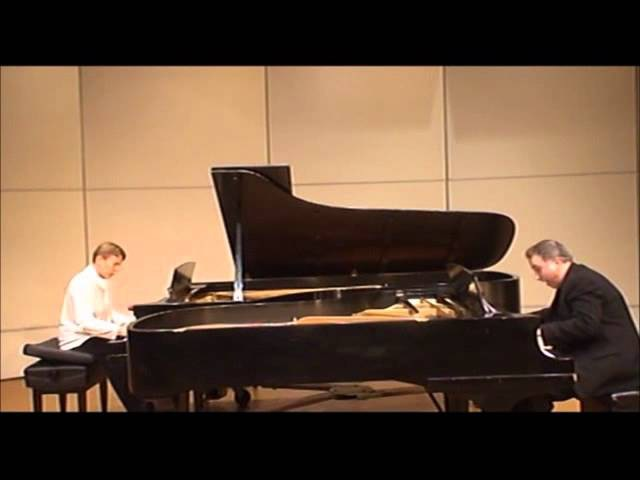Darius Milhaud: Scaramouche for Piano Duo, Op. 165b