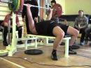 Негрей А., 125на16 раз, СВ-120,05 кг, 2й подход Жимовой марафон, 19.02.2012