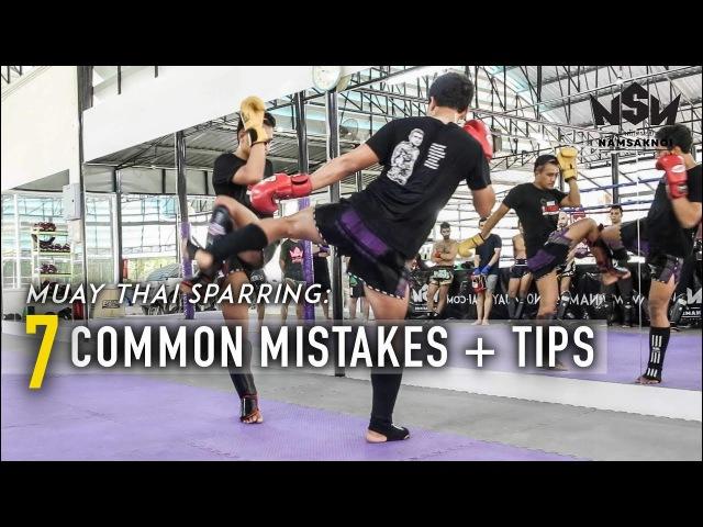 Muay Thai Sparring Common Mistakes Tips | Namsaknoi Muay Thai
