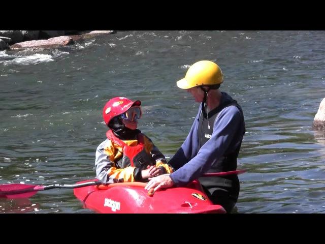 Тренируйся на кошках Developing and Practicing the Kayak Combat Roll