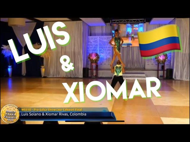 Colombia campeones Mundiales!! LUIS XIOMAR SALSA CABARET World salsa summit 2018