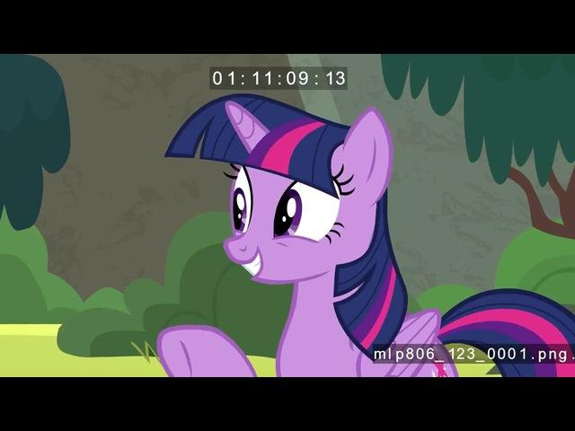 My little pony FIM S08E06 В прибой или и с горой Озвучка от Nblaaa