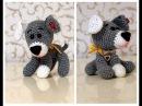 Как связать собачку Собачка крючком Вязание собачки Амигуруми крючком Ч 2 doggy P 2