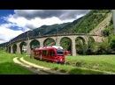 Bahnland Schweiz - Berninabahn Juli 2014 Teil 3/3 Kreisviadukt Brusio, Tirano, Poschiavo