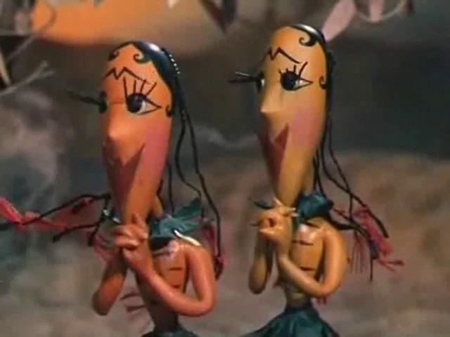 Козел в огороде (1981) Кукольный мультфильм   Золотая коллекция