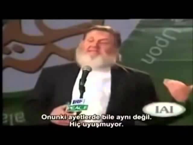 MÜSLÜMANI HRİSTİYAN YAPMAYA ÇALIŞIRKEN MÜSLÜMAN OLAN HRiSTiYAN DiN ADAMI - Yusuf Estes