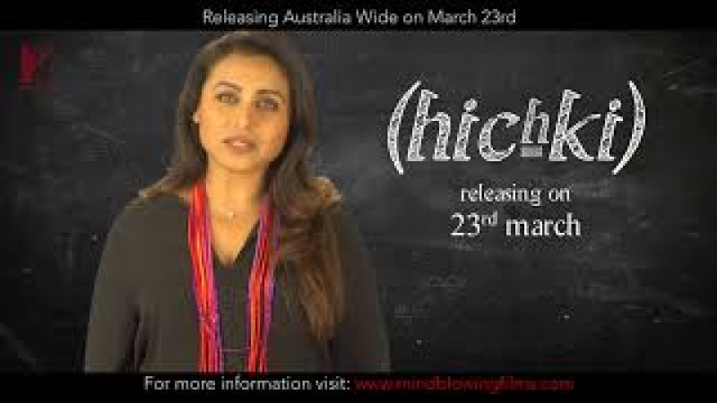 Hichki | Releasing Australia wide from 23 March | Rani Mukerji