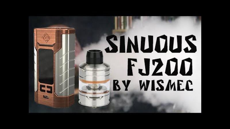 Sinuous FJ200 by Wismec   сын PREDATOR 228
