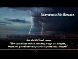 Абдуррахим Абу Ибрахим - мудрые слова Али ибн Абу Талиба