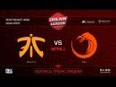 Fnatic vs TNC DreamLeague SEA Qualifier game 3 Mortalles Autodestruction