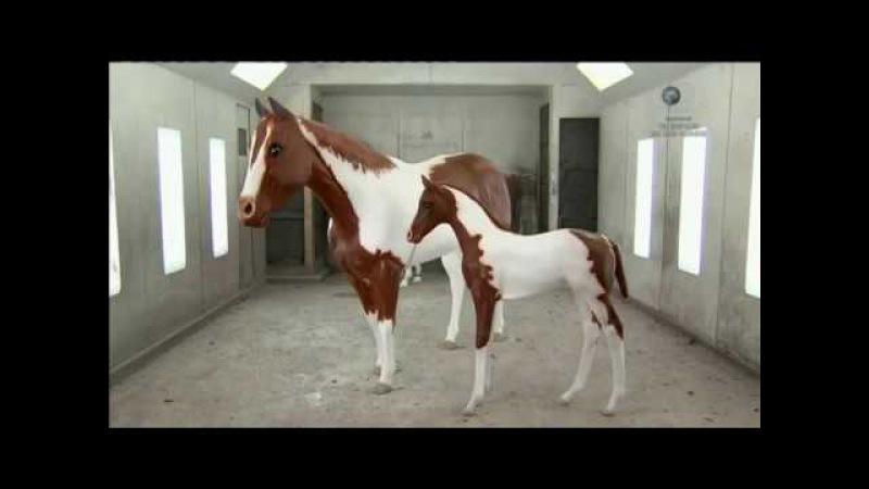 Модели лошадей 1:1 ( Из чего это сделано )