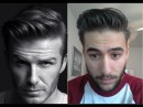 David Beckham H M Inspired Hairstyle How to style tutorial Hanz de Fuko Hair Products