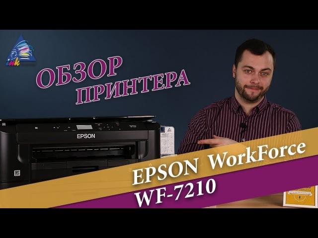 Обзор принтера Epson WF-7210 с Андреем