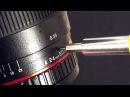 Repair lens Samyang 24 mm f1 4 diaphragm and numbered ring problem