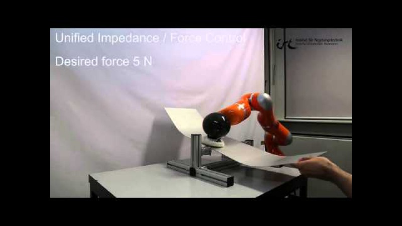 Unified Force Impedance Control ICRA 2015