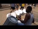 Bucket Drumming Street Art Performance Washington DC