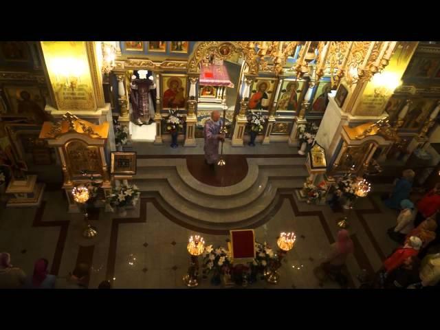 ВЕЛИКОЕ СЛАВОСЛОВИЕ Почаевское 26 сент 13 вынос креста на Крестовоздвиженье