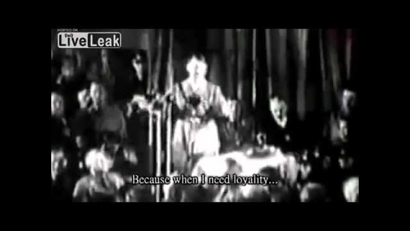 Hitler Speeches with accurate English subtitles