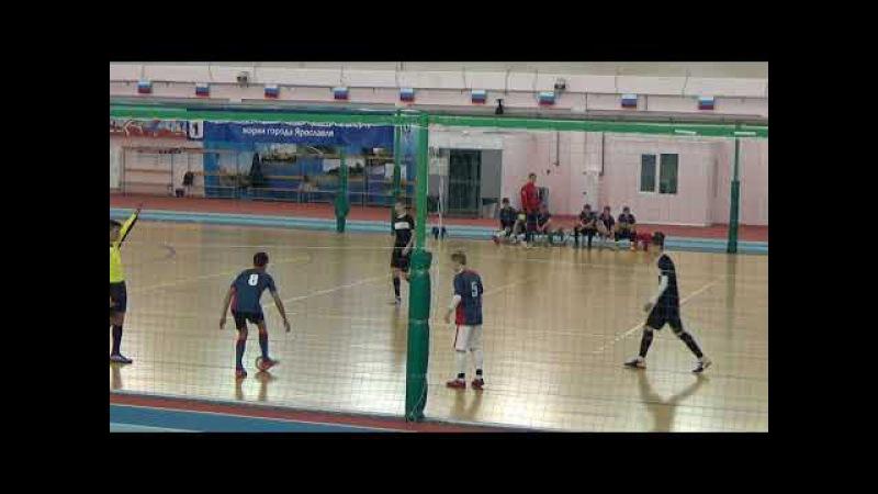 ДДТ (Удомля) - Радий (Н.Новгород). 1 тайм (2017-11-14)