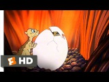 The Land Before Time (610) Movie CLIP - The Friends Find Spike (1988) HD