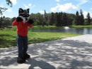 Rix has some silly fun! Fursuit