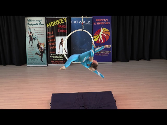 Квасова Кристина 13 лет - Catwalk Dance Fest VIIl [pole dance, aerial] 14.05.17.