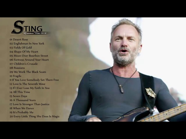 Sting Greatest Hits Full Album - The Very Best Of Sting
