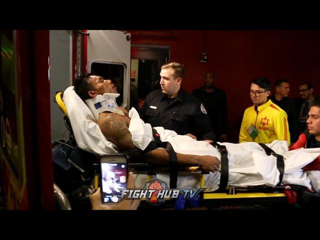 Тева Кирам госпитализирован после нокаута от Матиссе ntdf rbhfv ujcgbnfkbpbhjdfy gjckt yjrfenf jn vfnbcct