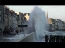 Grande marée Saint-Malo Tempête Bretagne Storm Tide Marea
