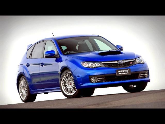 Subaru Impreza WRX STi Spec R AU spec GRB '2008–10