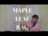 Maple Leaf Rag (Scott Joplin) played on Tenor Banjo (CGDA Tuning) by Jack Ray