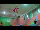 Воздушная гимнастика на полотнах в Naused.