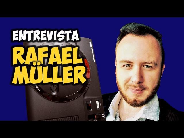 Ele ARRUMOU o ÁUDIO do Novo Mega Drive da Tectoy: Entrevista com Rafael Müller