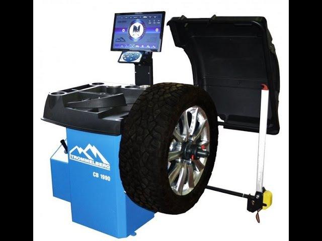 Балансировочный станок CB1990B с автовводом данных и ЖК-монитором (для колес до 70 кг)