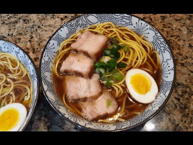 Chashu Pork Ramen 叉燒拉麵 Ep.5