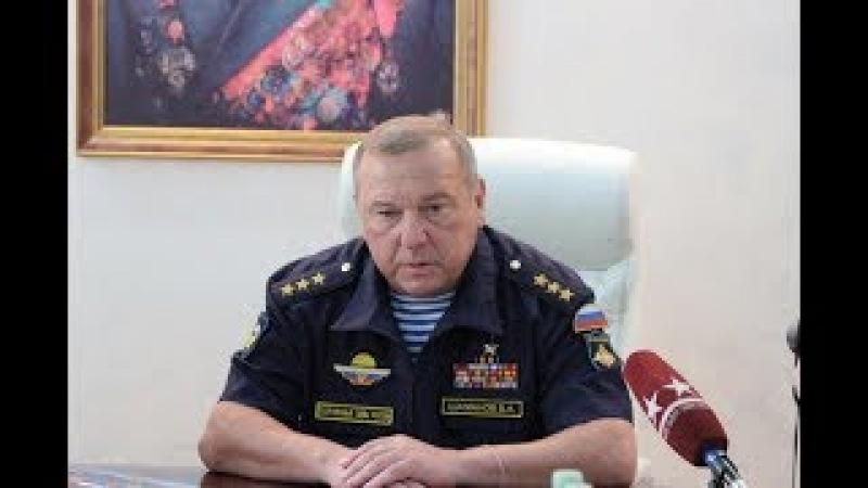 Лживый генерал российской армии. Позор ВДВ.