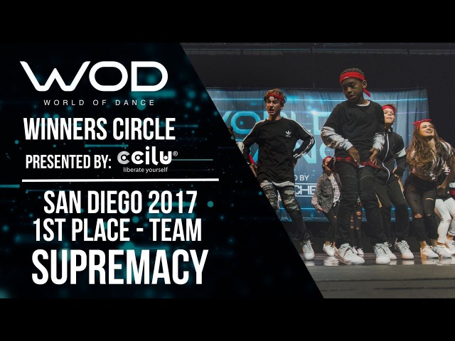 Supremacy | 1st Place Team Division | Winner's Circle | World of Dance San Diego | WODSD17
