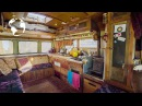 MAN Converts BUS Into TINY HOME as Proof Money isnt the KEY TO HAPPINESS