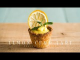 Lemon Curd Tart (vegan)