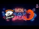 VP vs TnC RU (bo1) MDL Macau Lan Minor 09.12.2017