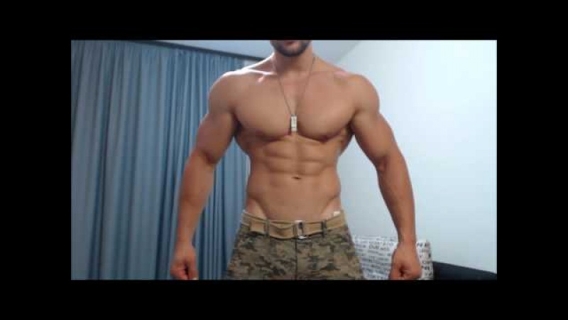 Army Look | FlexOil | 2 months out | Ripped ABS | Best Shape Ever |