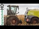 CLAAS JAGUAR versinkt im Moor Maishäckseln Traktoren v Claas u Steyr im Einsatz