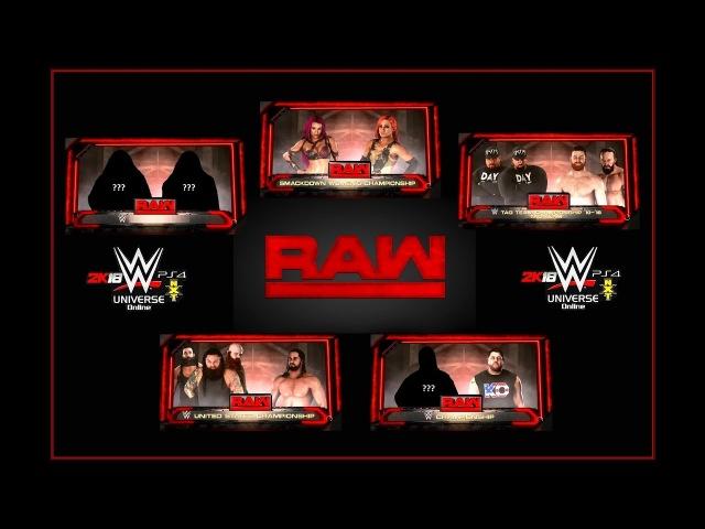 WUOW Raw 16.02.2018 (Universe) rus