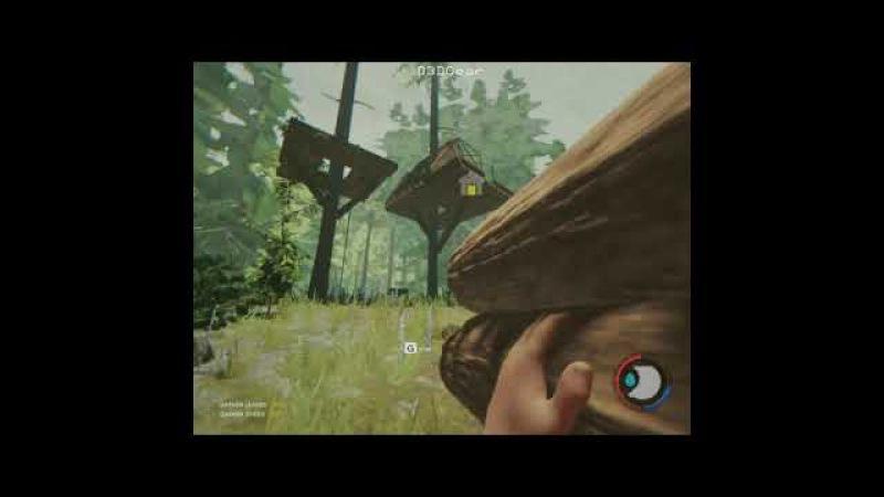 поиграем в The Forest 2 ( приколы и домик на дереве )