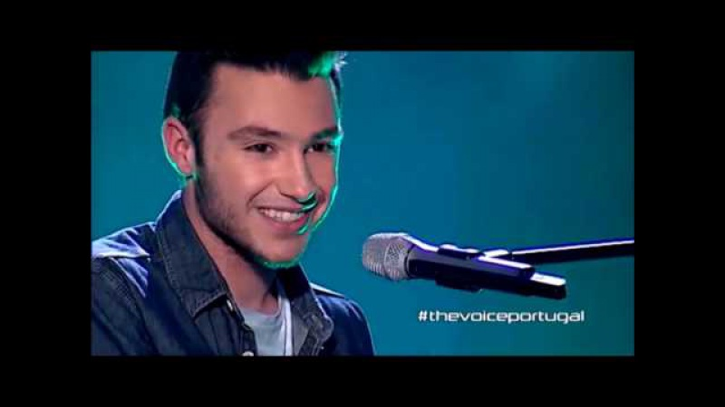 Amazing blind auditions No1 The Voice Portugal Alexandre Guerra Creep Radiohead