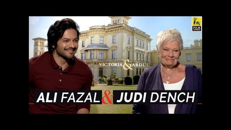 Judi Dench Ali Fazal Interview with Anupama Chopra | Victoria Abdul