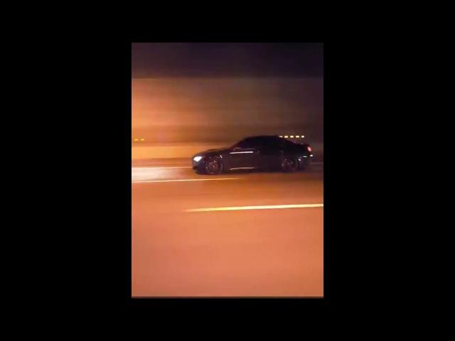 BMW M5 super high speed race 300 km H