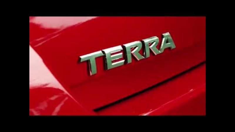 Nissan teases the all-new Terra frame SUV