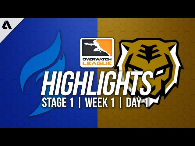 Dallas Fuel vs Seoul Dynasty ft Taimou Ryujehong | Overwatch League Highlights OWL Week 1 Day 1