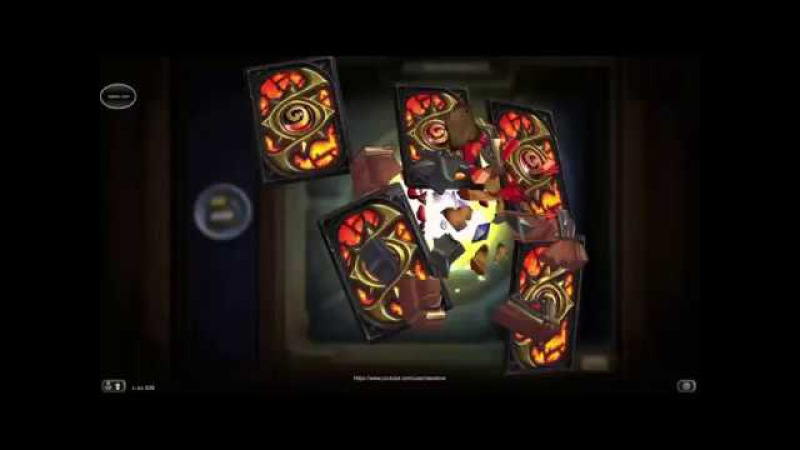 Hearthstone - Opening 8 Card Packs of Kobolds Catacombs Expansion